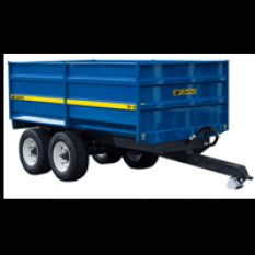 10 TON MONOQUE TIPPING TRAILER