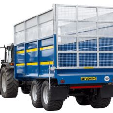 12 TON MONOQUE TIPPING TRAILER