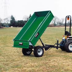 WT-1.5T HYDRAULIC TIPPING TRAILER 1. 5TON