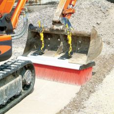 BGK-175 PRO HITCH BROOM BUCKET GUIDE HITCH