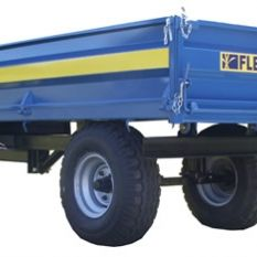 COMPACT TIPPING TRAILERS