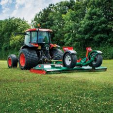 RMX-360 3.6M FOLDING WING ROLLER MOWER ON PROGLIDER FAST-TOW CHASSIS