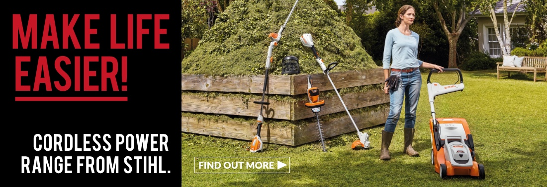Stihl Used Cordless Home and Garden Machines, Special Offers, Discounts